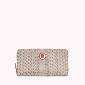 Tommy Hilfiger Long Zip Around Reptile Wallet