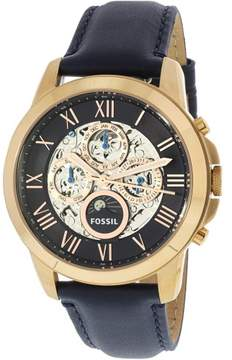 Fossil Men's ME3029 Grant Leather Watch, 44mm