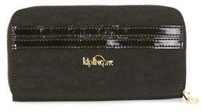 Kipling Zip-Around Continental Wallet - BLACK - STYLE