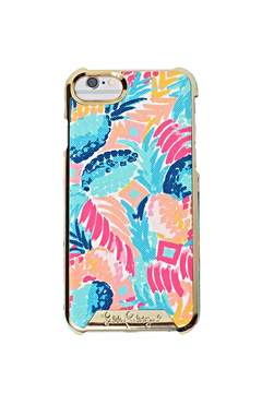 Lilly Pulitzer Iphone-7 Saffiano Cover