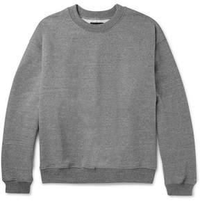 Fear Of God Mélange Loopback Cotton-Blend Jersey Sweatshirt