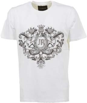 John Richmond Logo Crest Print T-shirt