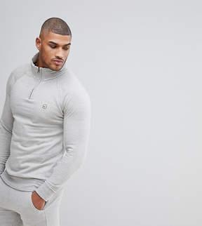 Le Breve TALL Half Zip Sweatshirt