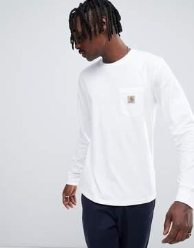 Carhartt WIP Long Sleeve Pocket Regular Fit T-Shirt