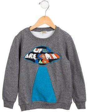 Kenzo Boys' UFO Embroidered Sweatshirt