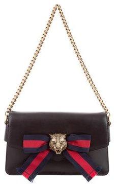 Gucci 2017 Leather Broadway Shoulder Bag - BLACK - STYLE