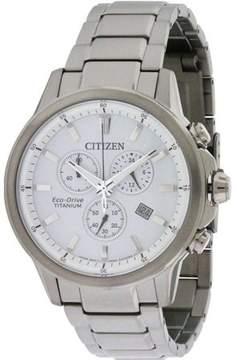Citizen Eco-Drive Titanium Ti + IP Mens Watch AT2340-56A
