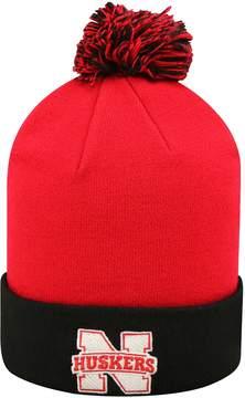 Top of the World Adult Nebraska Cornhuskers Pom Knit Hat
