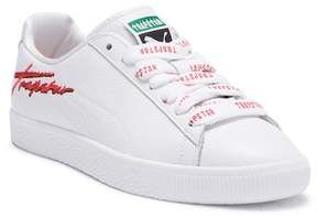 Puma X TRAPSTAR Clyde Leather Sneaker