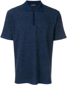 Roberto Collina half zip polo shirt