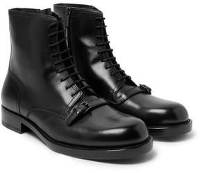 Bottega Veneta Polished-Leather Boots