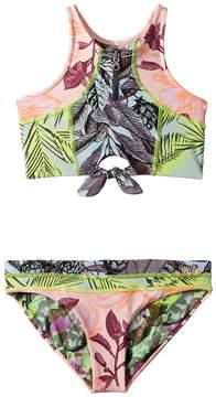 Maaji Kids Cacti Hotel Tankini Set Girl's Swimwear Sets