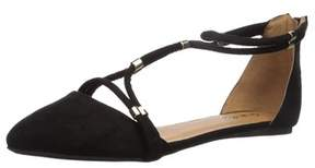 Qupid Women's Swift-244x Ballet Flat.