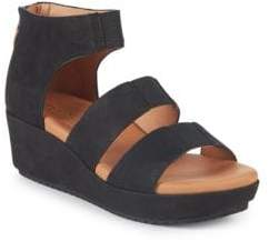 Gentle Souls By Kenneth Cole Milena Leather Wedge Sandals