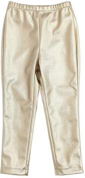 MonnaLisa Metallic Faux Leather Leggings