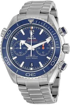 Omega Seamaster Planet Ocean Chronograph Automatic Blue Dial Men's Watch