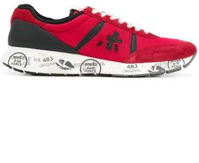 Premiata two-tone lace up sneakers