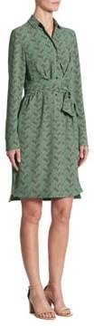 Akris Punto Las Rocas-Print Shirtdress