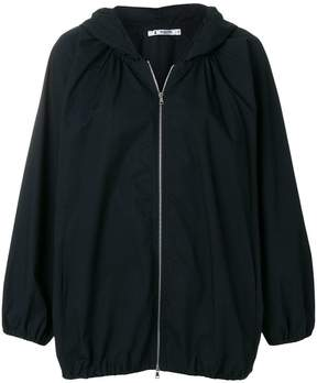 Barena hooded oversized jacket