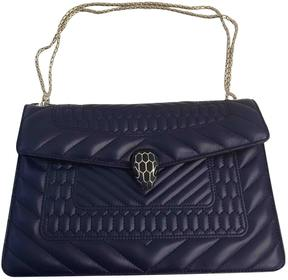 Serpenti leather handbag