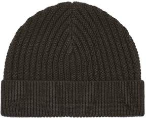 Reiss Overton Ribbed Beanie Hat