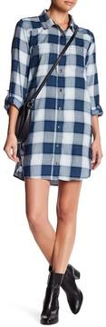 Billabong Winters Tail Plaid Shirtdress