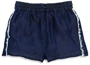 DL1961 Girls' Frayed Denim Shorts - Little Kid