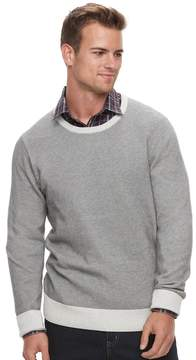 Apt. 9 Men's Slim-Fit Textured Crewneck Sweater
