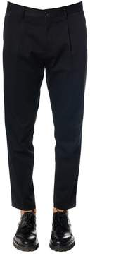 Blend of America Low Brand Wool-cotton Trousers With Pinces
