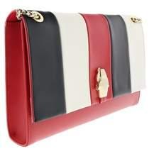 Roberto Cavalli Medium Shoulder Bag Rsvp Cruise Red/white/black Shoulder Bag.