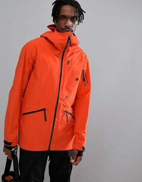 Peak Performance Bec J Lightweight Ski Jacket In Orange