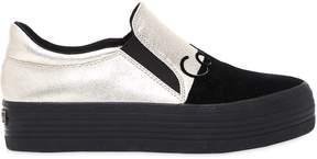 Calvin Klein Jeans 40mm Zinah Metallic Slip-On Sneakers