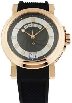 Breguet 5817BR Marine Automatic Big Date 18K Rose Gold Watch