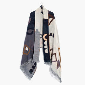 Madewell Abstract Pattern Scarf