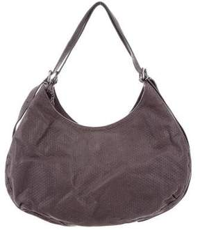Stella McCartney Embossed Eco Alter Suede Tote