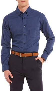 Daniel Cremieux Signature Mini-Check Heather Long-Sleeve Woven Shirt