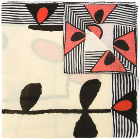 Marni abstract printed scarf