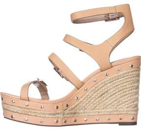Charles David Womens Larissa Leather Open Toe Casual Espadrille Sandals.