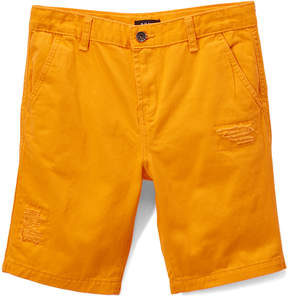 DKNY Tangerine Flat Front Shorts - Boys