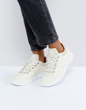 K-Swiss Aero Leather Sneakers In Cream