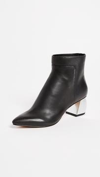 Dolce Vita Jonn Block Heel Ankle Boots