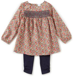 Edgehill Collection Little Girls 2T-4T Made with Liberty Fabrics Top & Pants Set