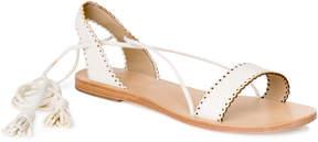 Max Studio versant : soft suede wrap sandals