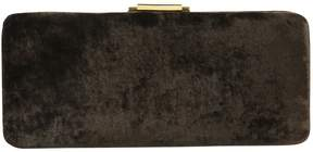 Donna Karan Velvet clutch
