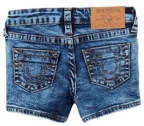 True Religion Single End Shorts (Little Girls)