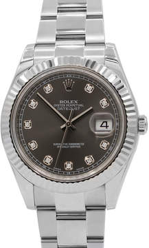Rolex Pre-Owned 41mm Datejust Automatic Bracelet Watch