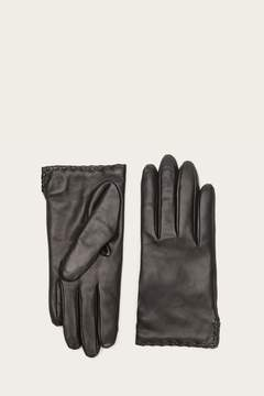 Frye | Womens Nora Whipstitch Glove | S | Black