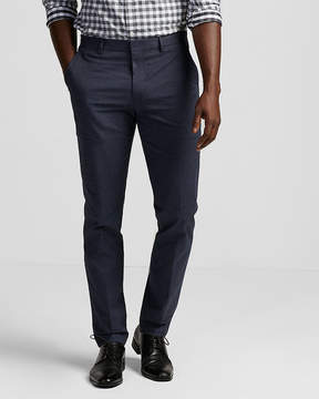 Express Slim Cotton Twill Dress Pant