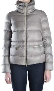 Geospirit Women's Beige Polyamide Down Jacket.