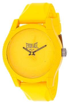 Everlast Analog Monochrome Watch Yellow
